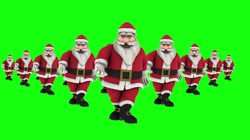 Christmas Dancing Santa.Dance 4 Group Of Stock Footage Video 100 Royalty Free 19626571 Shutterstock