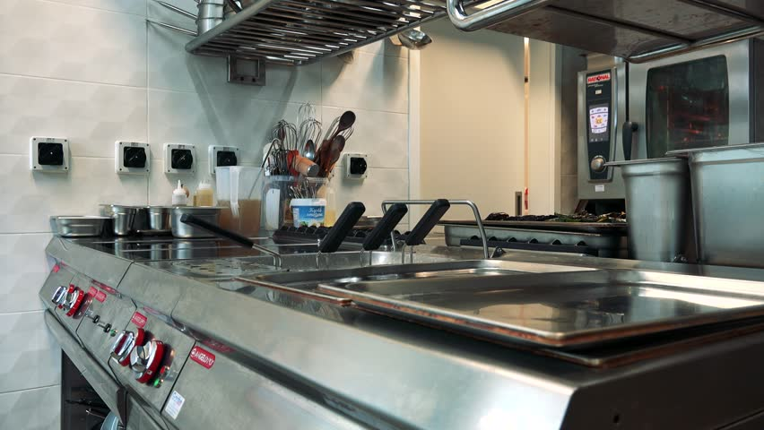 Restaurant Kitchen Video restaurant kitchen stock footage video 5814767 | shutterstock