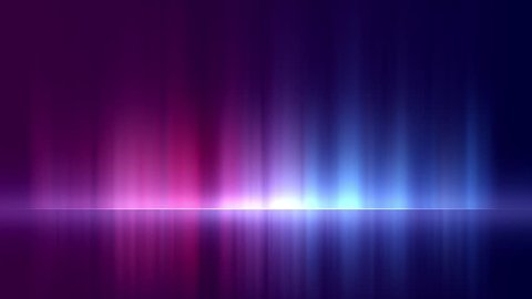Pro motion animation background video loop - Reflection blue and pink