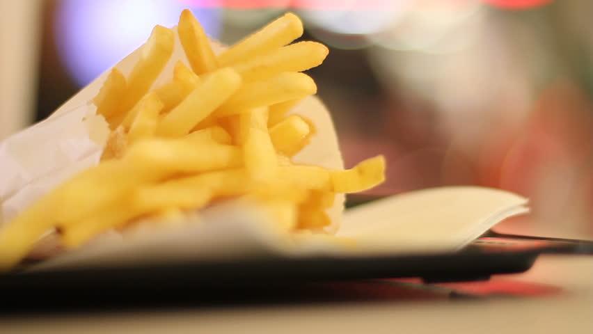 Fast-food restuarant fries