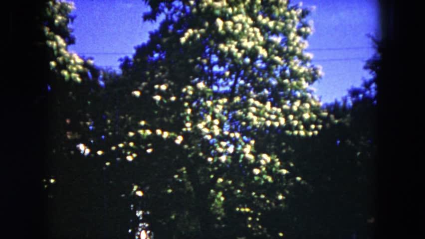 MILWAUKEE, WISCONSIN 1953: summer in village | Shutterstock HD Video #19865401