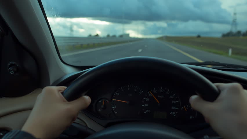 Behind The Wheel >> The Driver Behind The Wheel Stock Footage Video 100 Royalty Free 19923541 Shutterstock