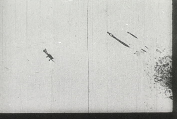 EUROPE - CIRCA 1942-1944: World War II, Bomb Dropping