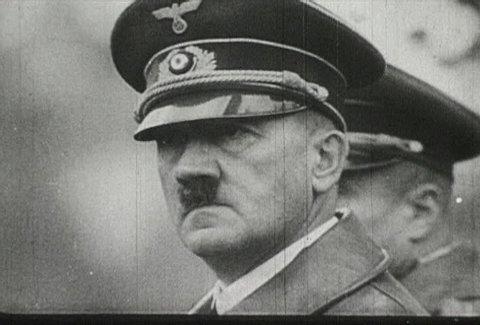 EUROPE - CIRCA 1942-1944: World War II, Hitler Salute