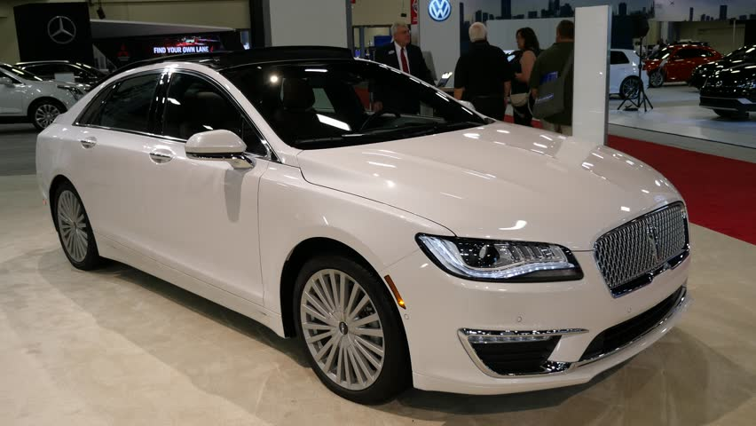 Miami Usa September 10 2016 Lincoln Mkz Sedan On Display During The