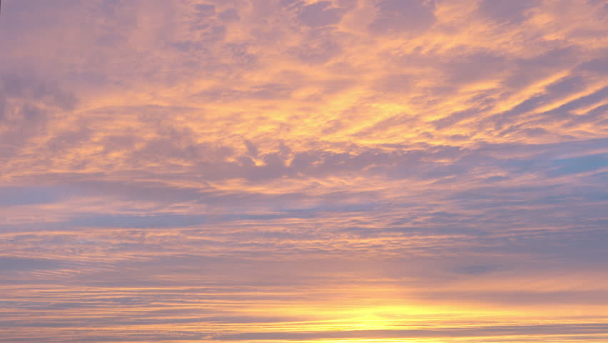 Moving Sunset Sky Background Stock Footage Video 1328332 ...
