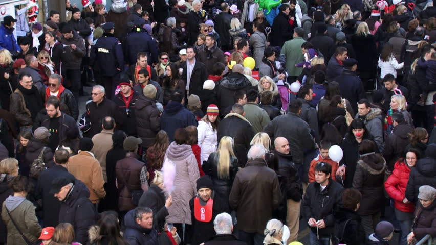 "BELGRADE, SERBIA - JANUARY 1: Annually festival ""Street of Open Heart"", on January 1, 2012 in Belgrade.  #2015981"
