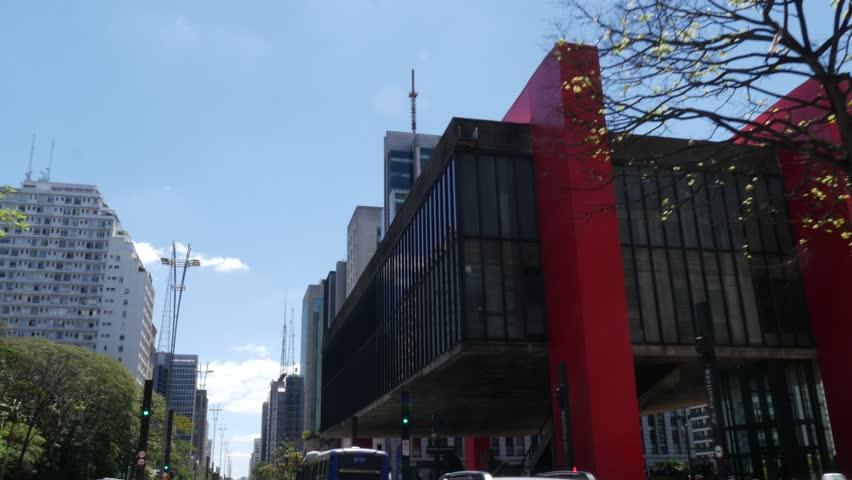 Paulista Avenue, Sao Paulo, Brazil #20286421