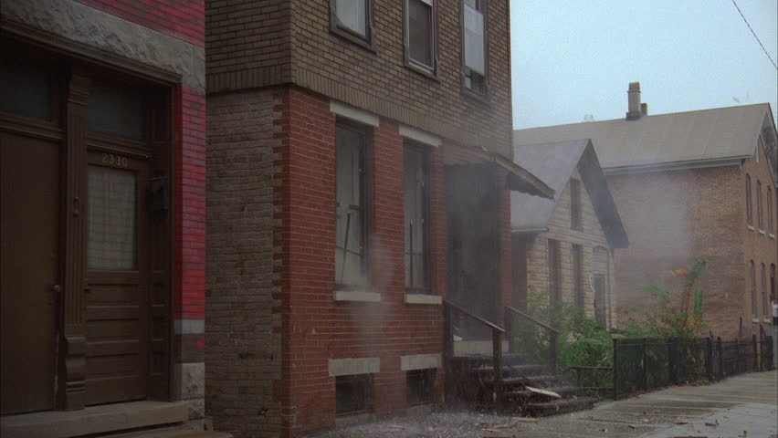 Day RAINING Left Immediate Explosion That Blows Out Windows An Older Two  Story Small Run Down Part 82