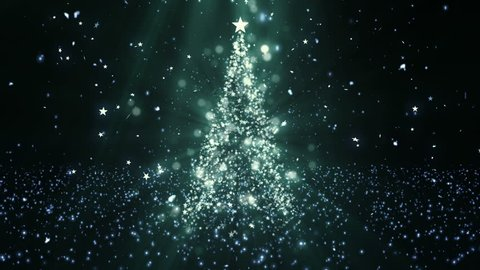 Christmas Tree Stars 1 Background A Full HD, 1920x1080 Pixels, Seamlessly Looped Animation Works with all Editing Programs  Simply Loop it for any duration Suits for Christmas, New Year,  Holidays