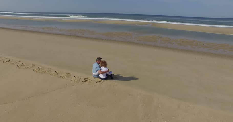 Man and woman at the beach | Shutterstock HD Video #20541601