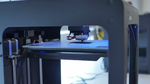 3D Printer in time lapse