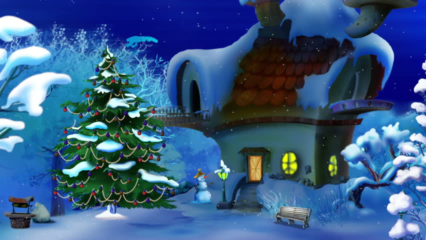 Magic Christmas.Magic Christmas Night New Year Stock Footage Video 100 Royalty Free 20581231 Shutterstock