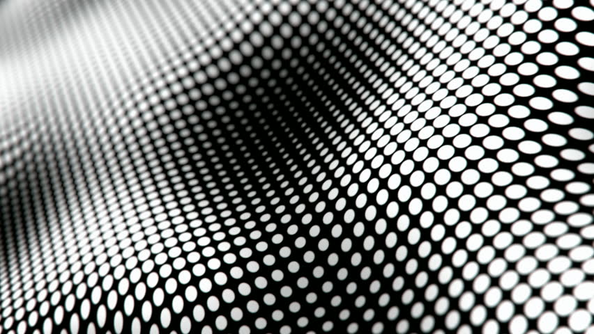 Waving halftone dots pattern abstract motion background seamless loop | Shutterstock HD Video #20617261