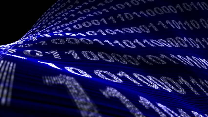 Binary Code Numbers Background, Loop, 4k  | Shutterstock HD Video #20627731