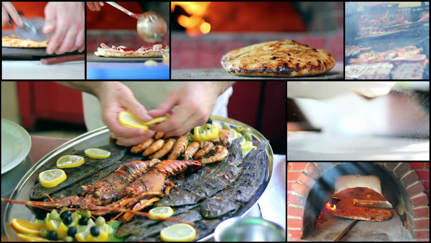 Food Preparation - Collage
