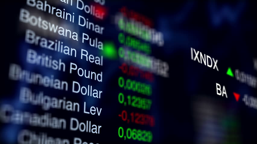Stock Currency Exchange. Business Background. V1 | Shutterstock HD Video #20687383