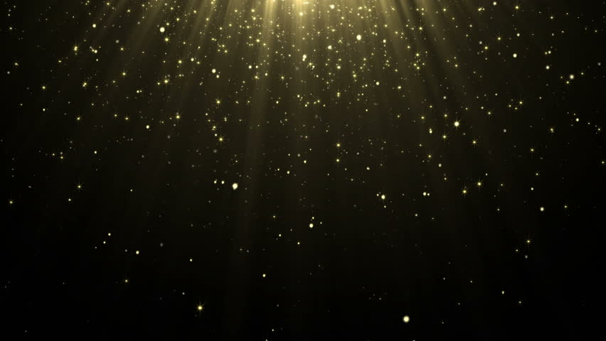 Particles gold glitter award dust abstract background loop   Shutterstock HD Video #20807536