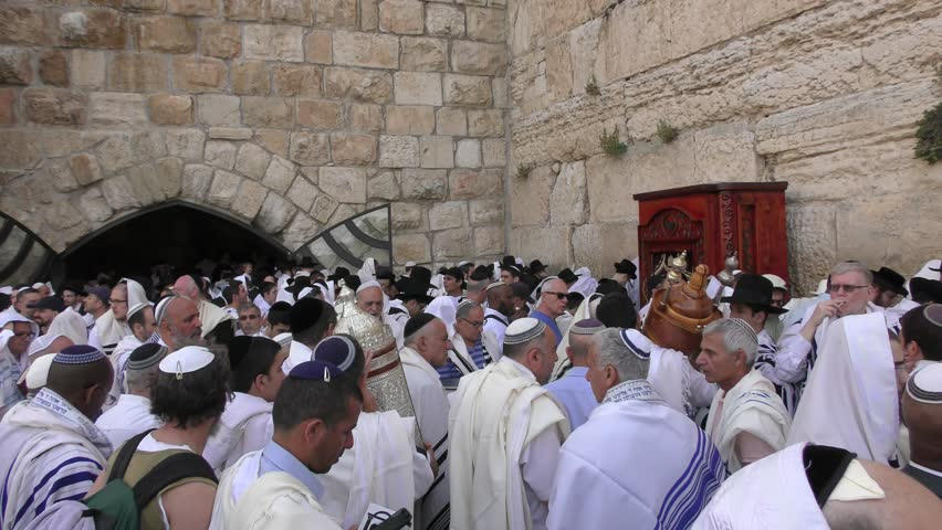 Jerusalem israel may 25 2017 people are waiting in a line to jerusalem israel may 25 2016 jews pray in the western wall after sciox Image collections