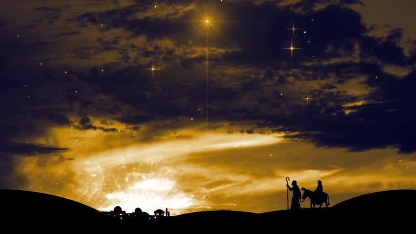 nativity scene wallpaper free download