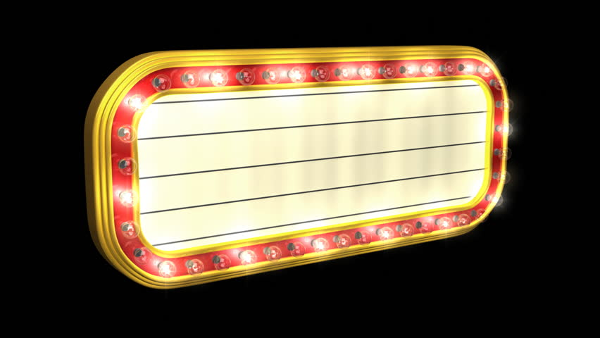 animated marquee