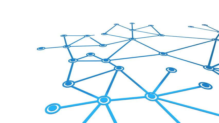 Networking growing network loop | Shutterstock HD Video #2100371