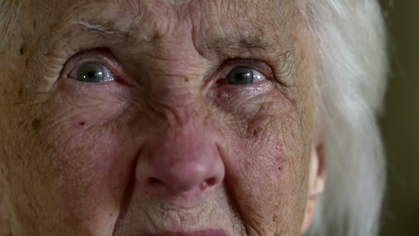 Portrait Of A Hundred Years Old Woman, Centenarian