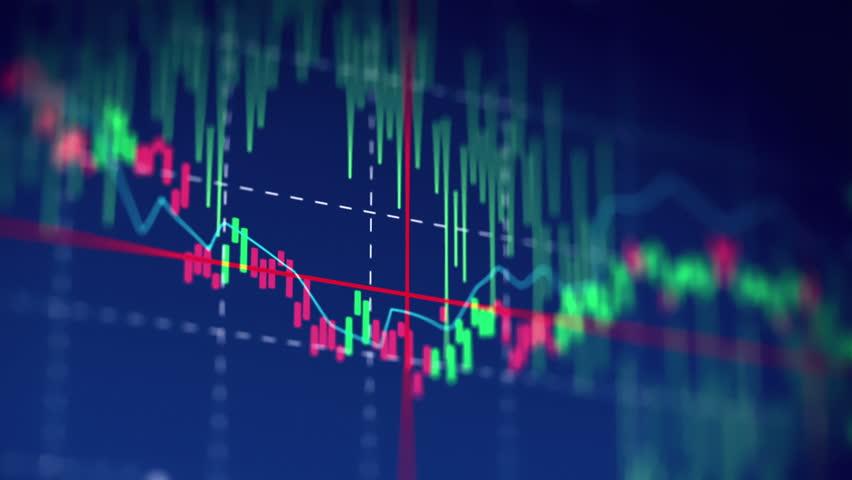 Financial chart and stock market bar chart for use as  financial report and stock market presentation  | Shutterstock HD Video #21030421
