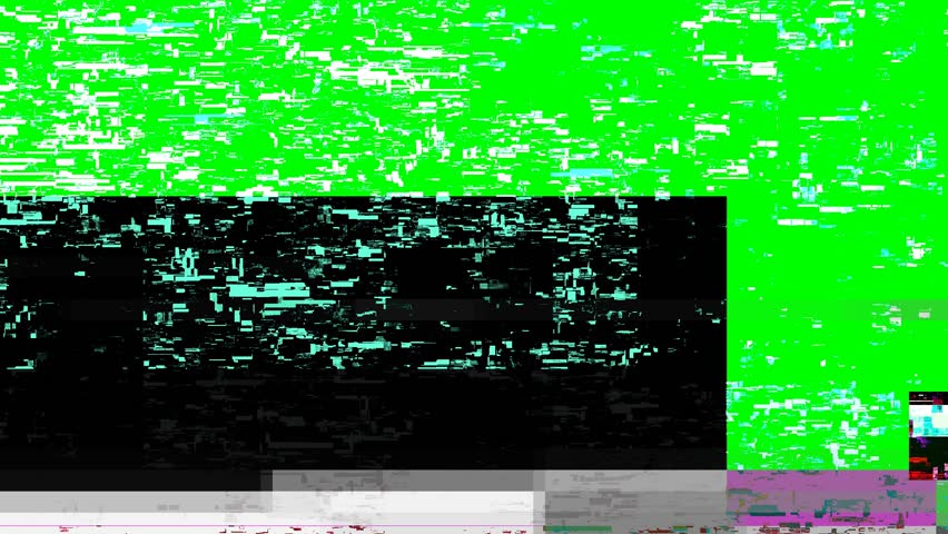 6 varieties of glitchy digital noise/static, each with it's own glitch sound effect.