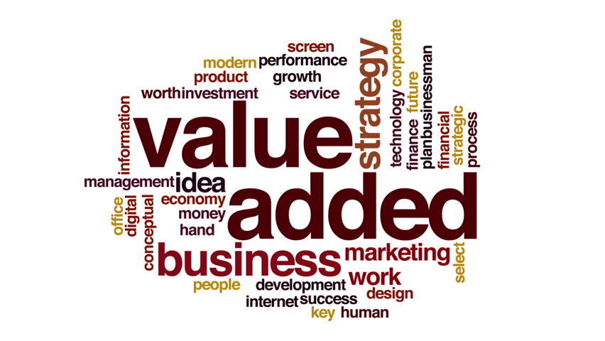 """value added marketing That beast is the """"value-adding partnership""""—a the term value-added chain comes from the field or market value declined from more than 23 million in."""