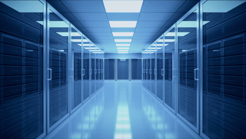 Data Center Walk-through | Shutterstock HD Video #21412591