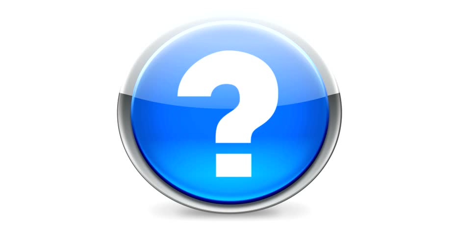 Question mark - Round button | Shutterstock HD Video #2142626