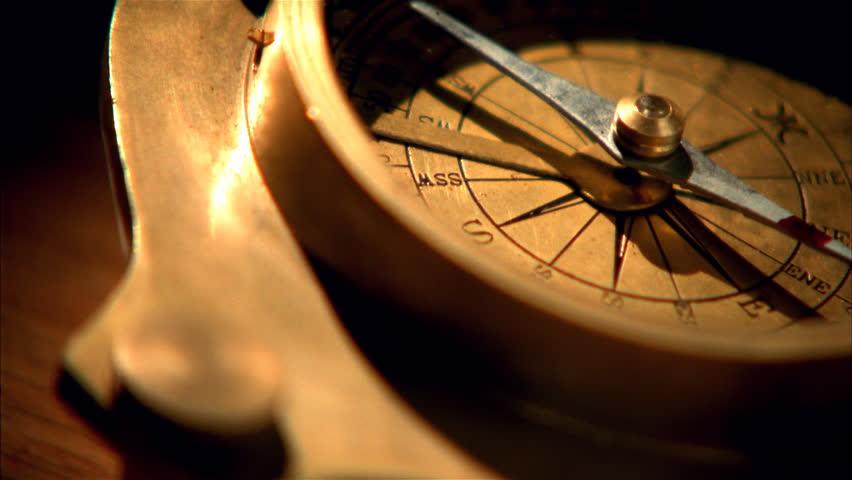 Header of compass