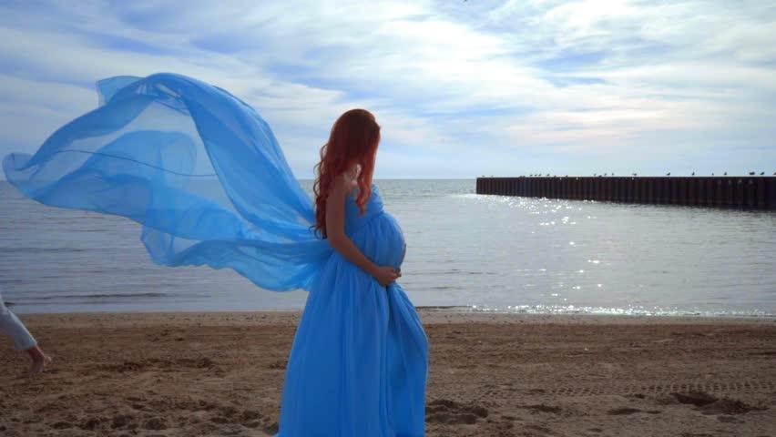 Beach Pregnant Nude