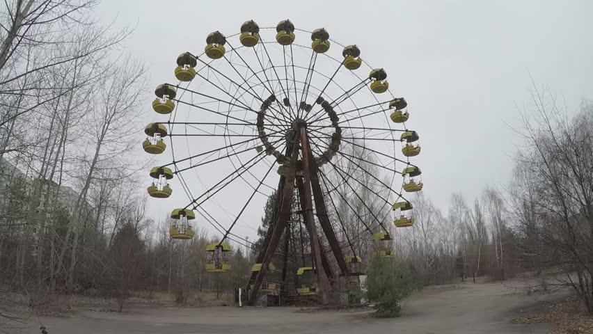 Колесо обозрения в Припяти