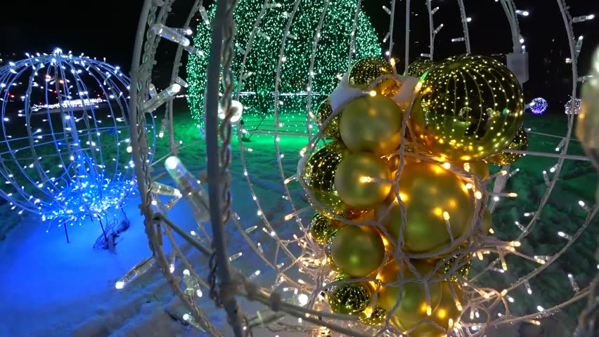 Sapporo White Illumination _2 / Shooting in Sapporo, Japan on November 30, 2016 / Photographs of light and snow photographed with super wide-angle lens and camera stabilizer. #21800761