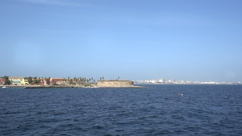 Gore island, city of African slave trade - Dakar, Senegal