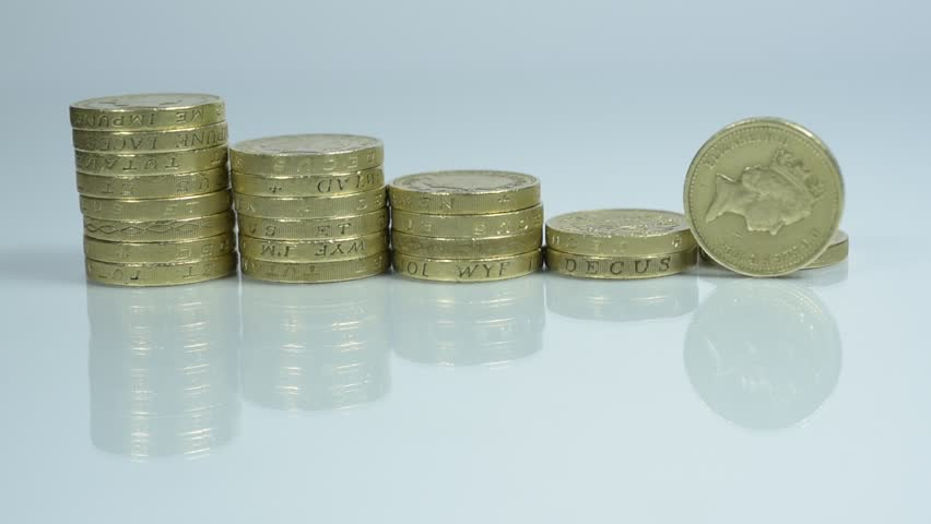 British Pound Coins up Close Stock Footage Video (100% Royalty-free)  22061911 | Shutterstock