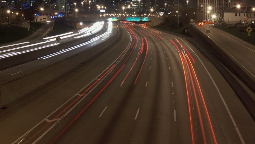 Timelapse of I-90 Freeway, Chicago, Stock Footage Video (100% Royalty-free)  2210221 | Shutterstock