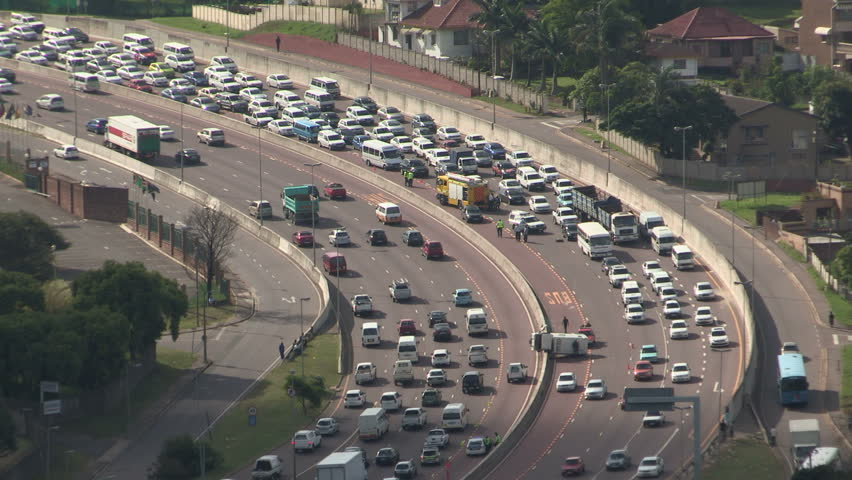 Traffic Accident On Durbans N3 Stock Footage Video (100% Royalty-free)  2218411 | Shutterstock