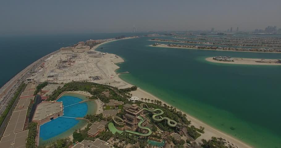 Shot from above in Dubai
