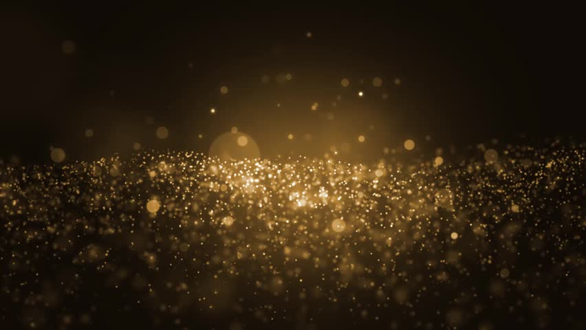 background gold movement universe gold dust with stars on black background motion abstract of. Black Bedroom Furniture Sets. Home Design Ideas