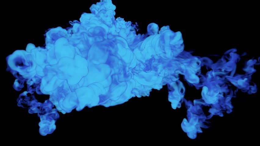 Blue Ink Drop in Water Stock Footage Video (100% Royalty-free) 22235281 |  Shutterstock