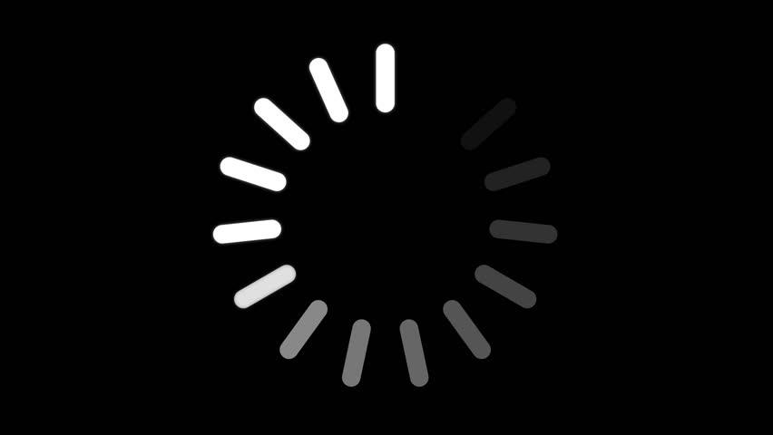 Loading progress circle, seamless loop animation | Shutterstock HD Video #22263091