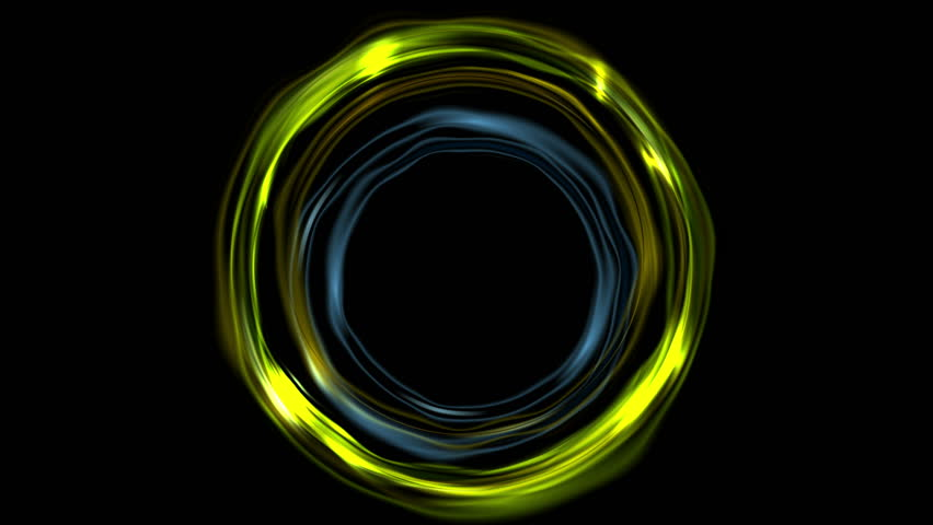 beautiful neon circles 4k - photo #19