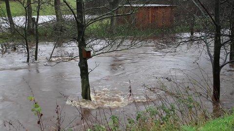 River Derwent Floods; Hackness Scarborough