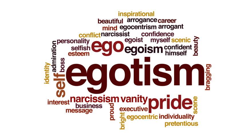 Header of egotism