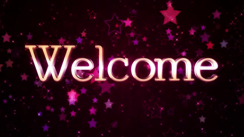 welcome stock footage video 100 royaltyfree 23000731