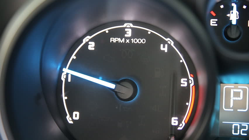 Tachometer close up  | Shutterstock HD Video #23087251