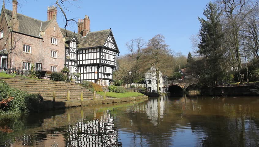 Packet House Bridgewater Canal Worsley Salford Greater Manchester